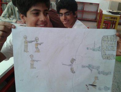 جواد غلامی و علی خواجه با یک اثر زیبا